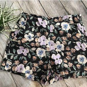 NWT GAP Floral High Waist Shorts
